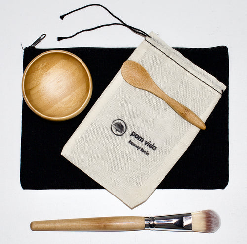 Bamboo Face Mask Kit