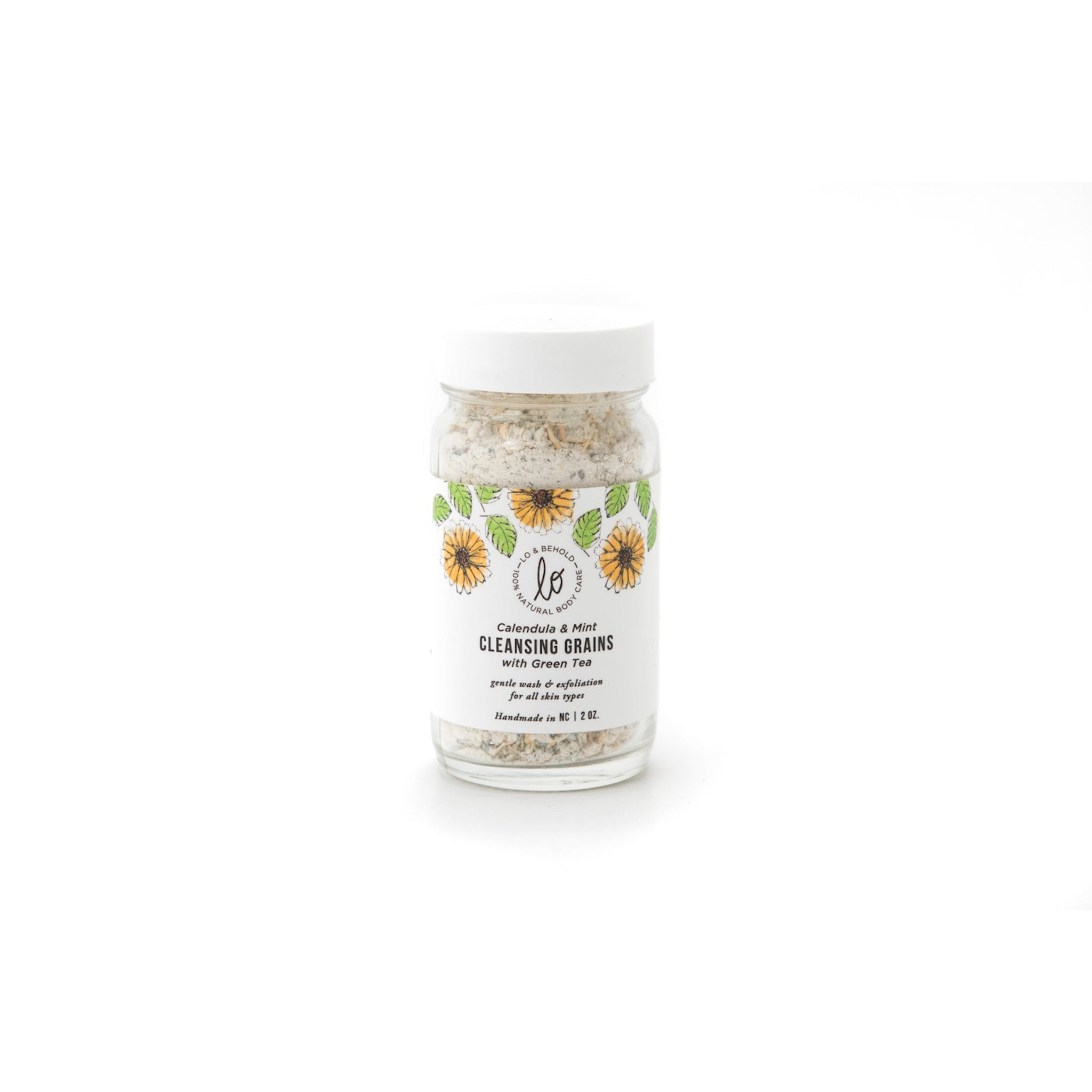 Lo & Behold - Calendula & Mint Cleansing Grains (2 oz)