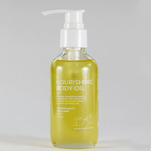 Brown + Coconut - Nourishing Body Oil