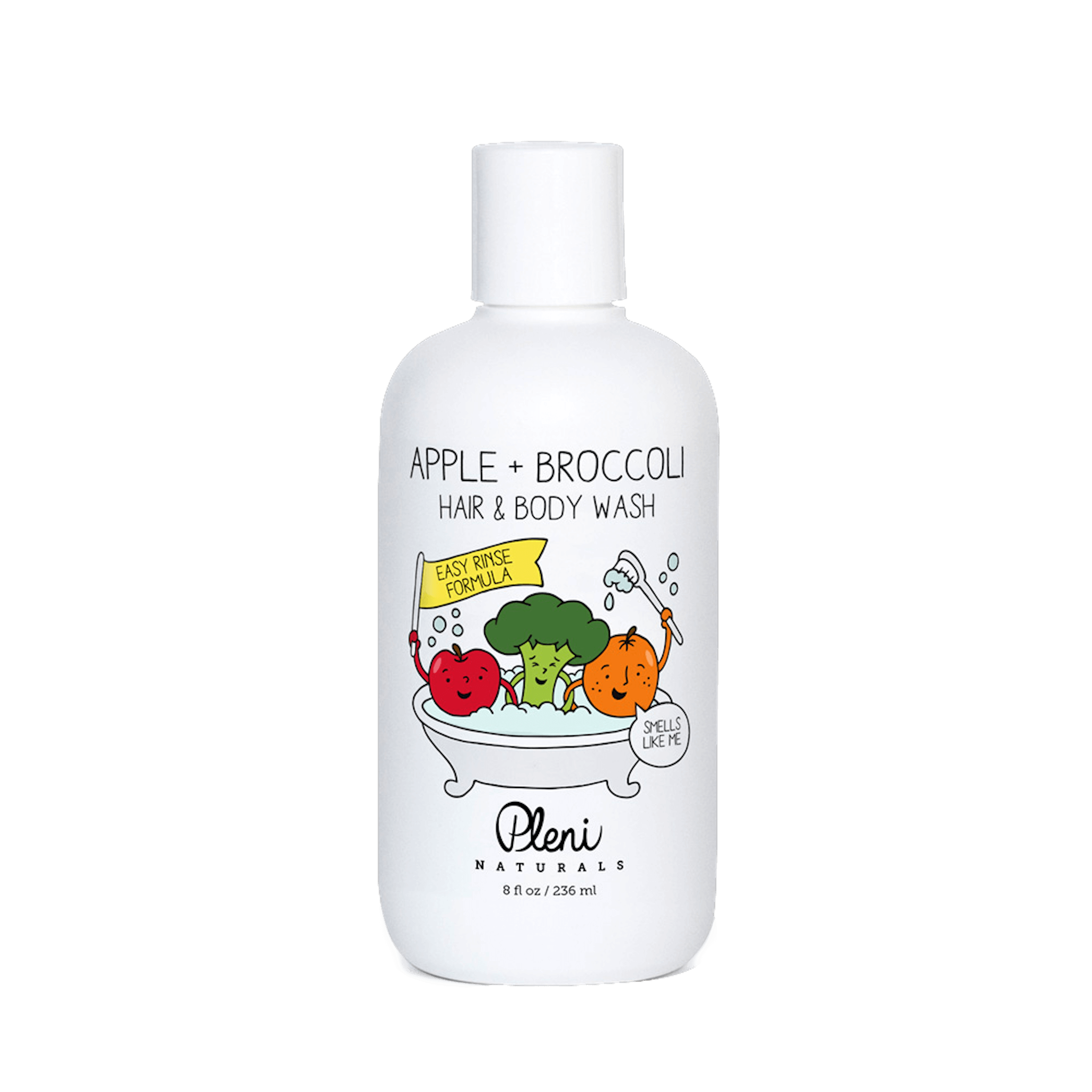 Pleni Naturals - Apple + Broccoli Hair & Body Wash (8 oz)
