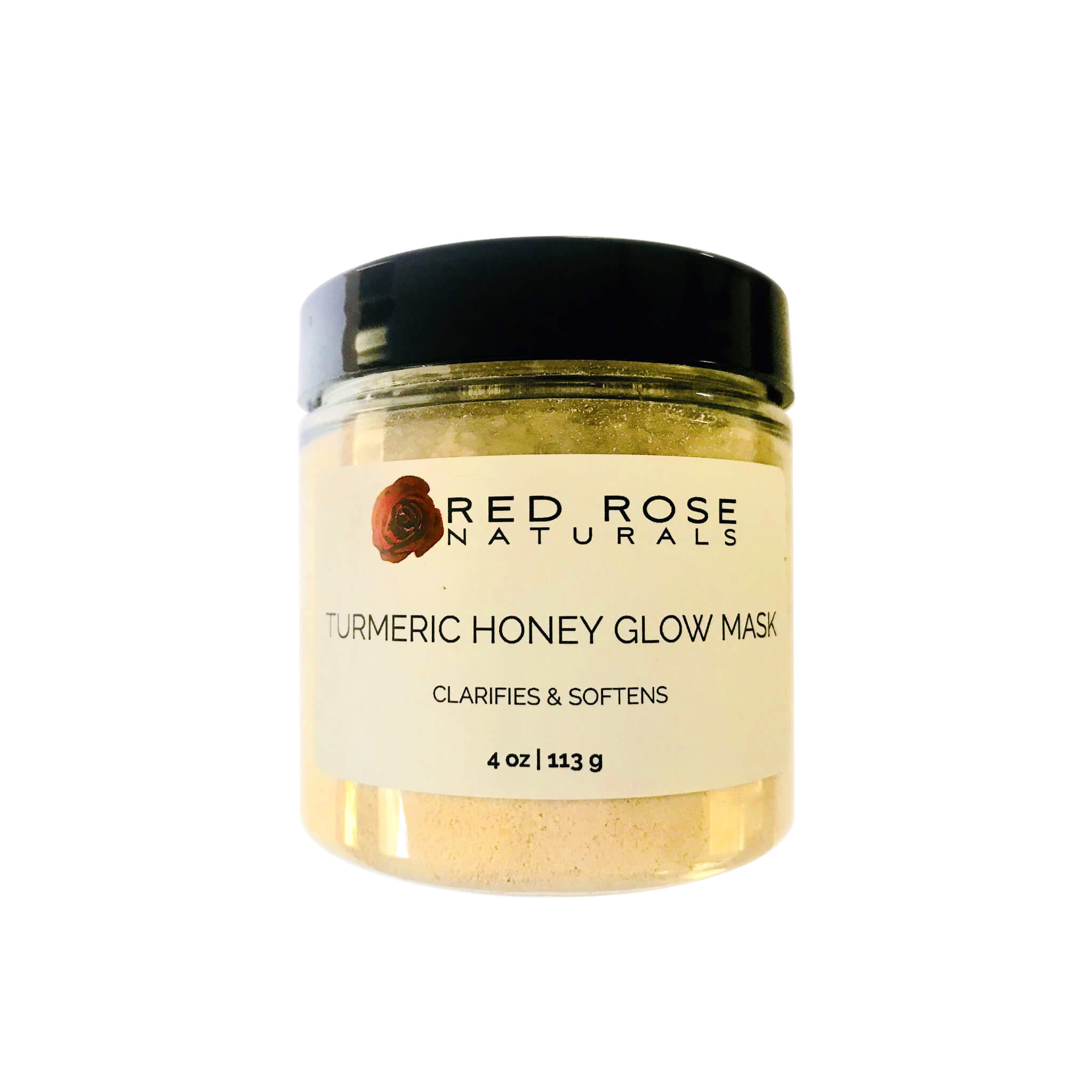 Red Rose Naturals - Turmeric Honey Glow Mask