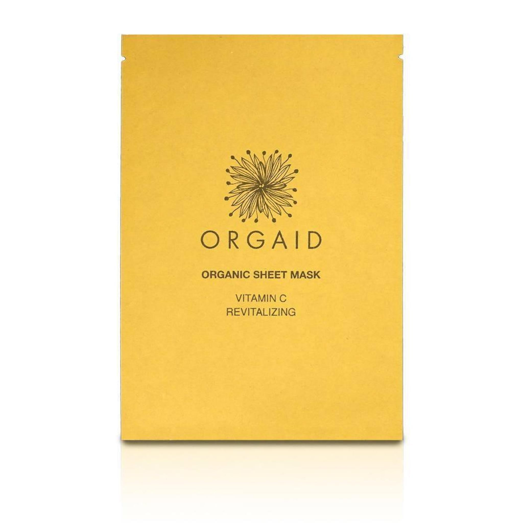 Orgaid - Organic Sheet Mask / Vitamin C & Revitilizing (Single)