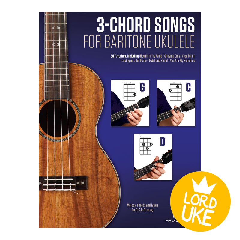 3 Chord Songs for Baritone Ukulele