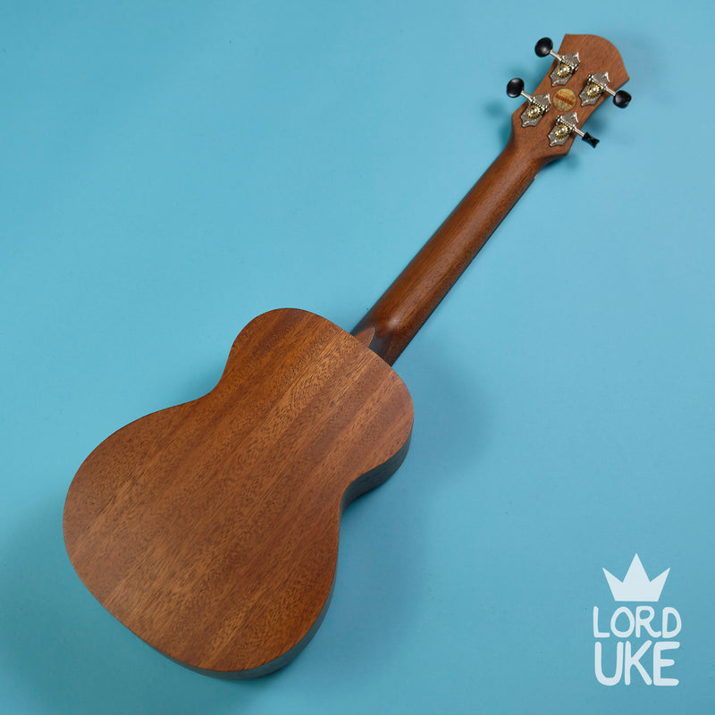 Anuenue PAS2 All Solid Mahogany Concert Ukulele (Solid Mahogany, Natural Satin, Gig Bag)