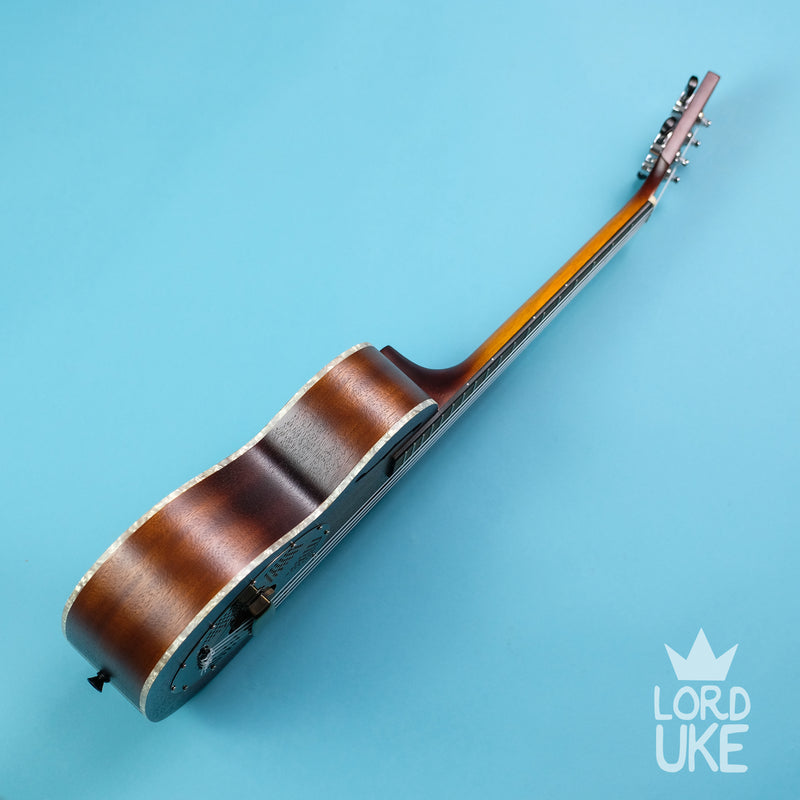 Kala KA-RES-BRS Tenor Resonator Ukulele (Brass/Mahogany, Natural Satin)