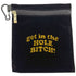 get in the hole bitch clip on bling golf accessory bag