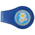 bling daisies golf ball marker with magnetic blue clip