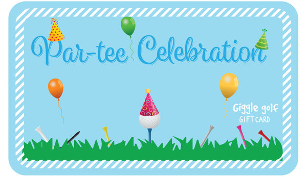 giggle golf par-tee celebration e-gift card