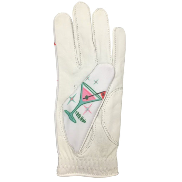 19th hole pink martini women's golf glove