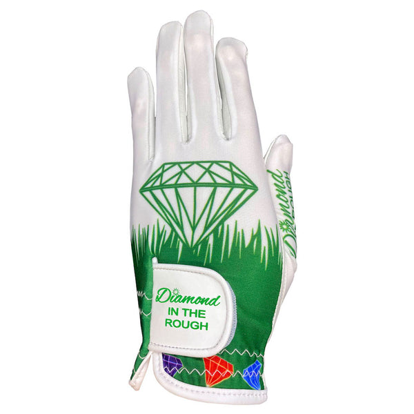 diamond in the rough women's golf glove
