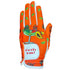 orange fiesta time women's golf glove