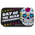 day of the dead sugar skull mint tin