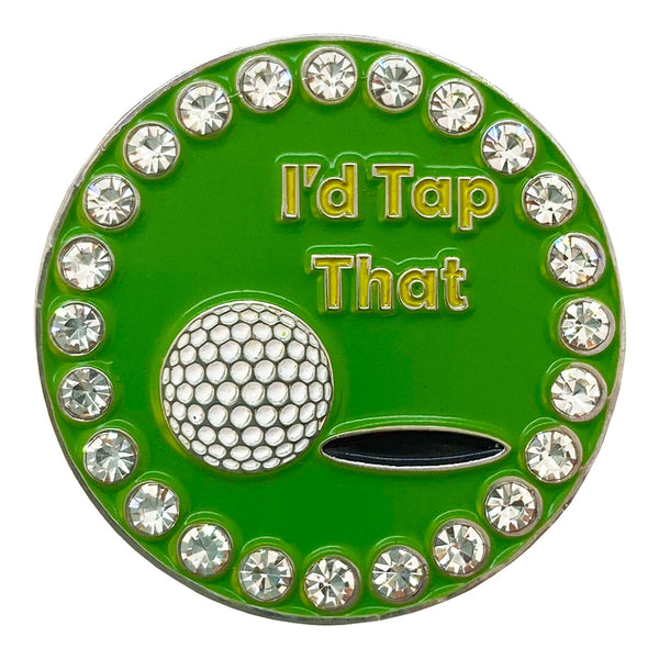 I'd Tap That Golf Ball Marker Only