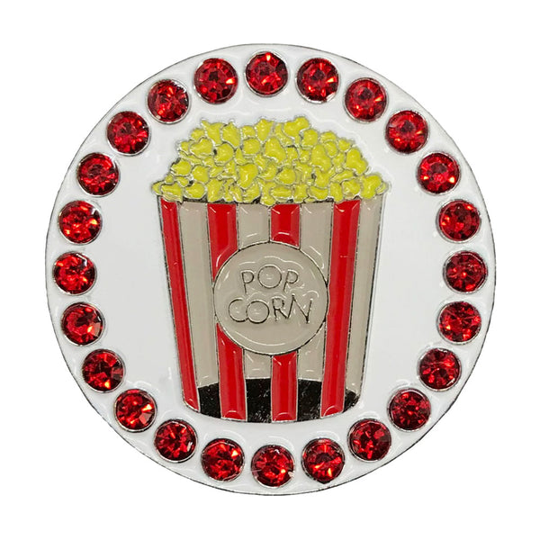 popcorn golf ball marker only
