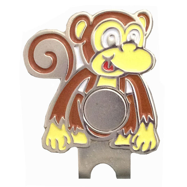 giggle golf magnetic monkey shaped hat clip