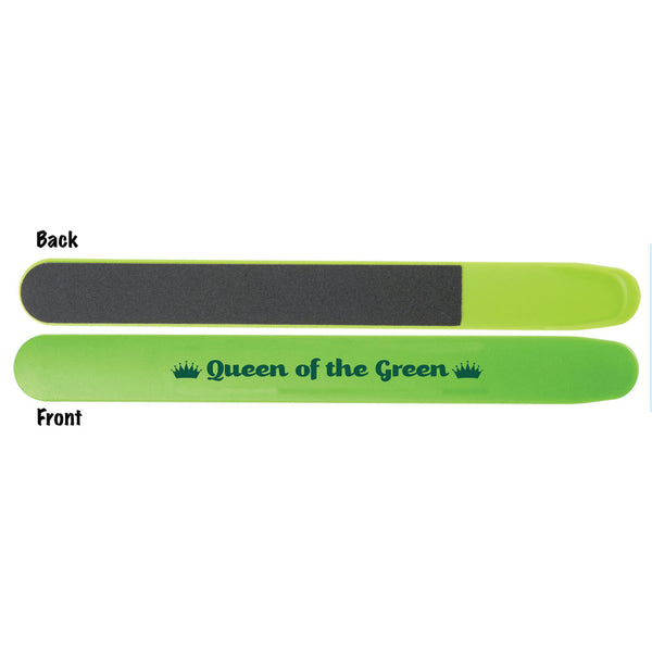queen of the green golf nail file