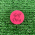 Golf Diva Quarter Size Plastic Ball Marker