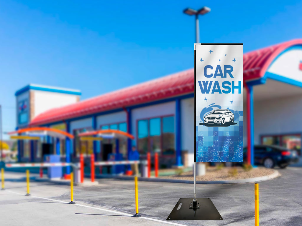 Car Wash Flag