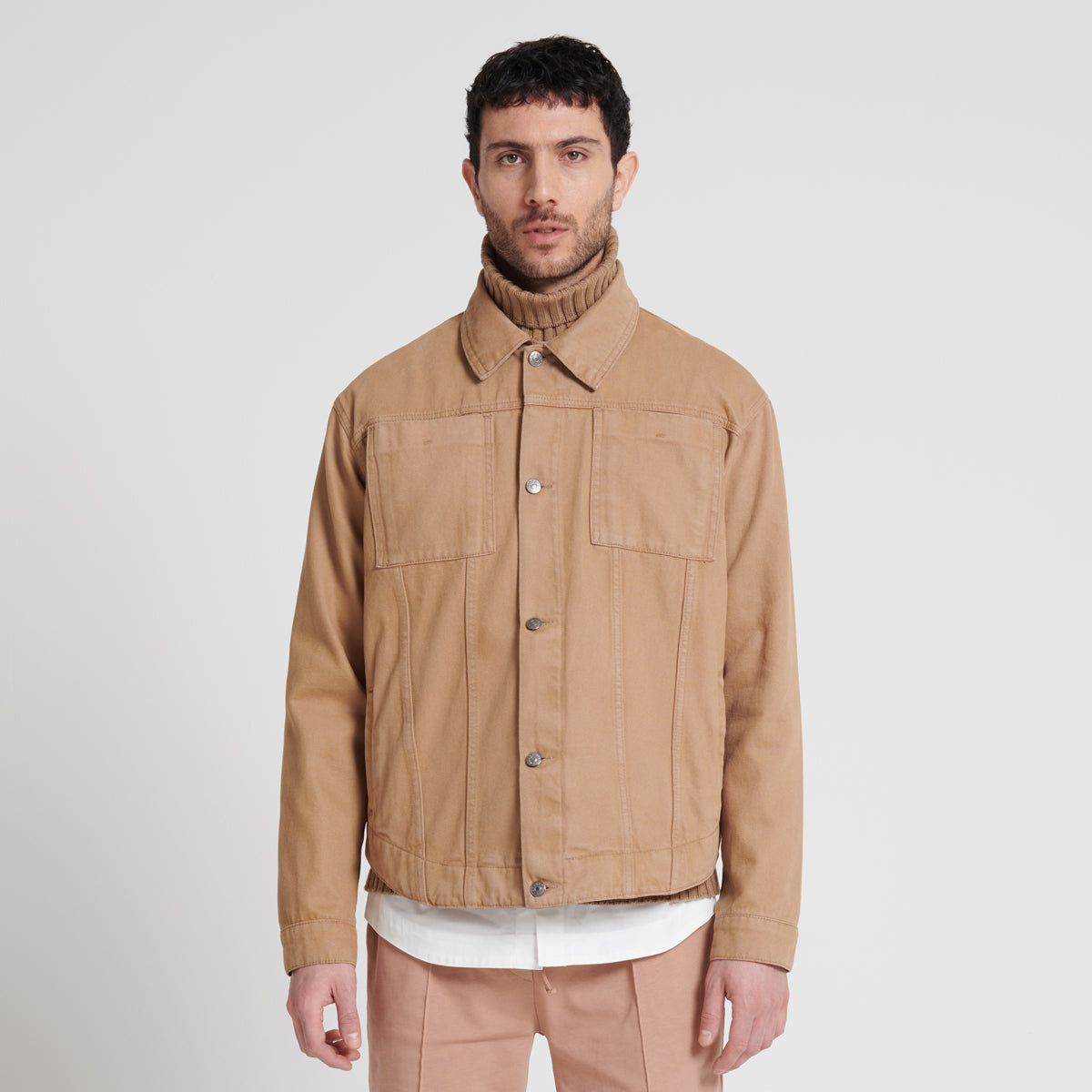 """JOU"" the heavy cotton twill jacket"