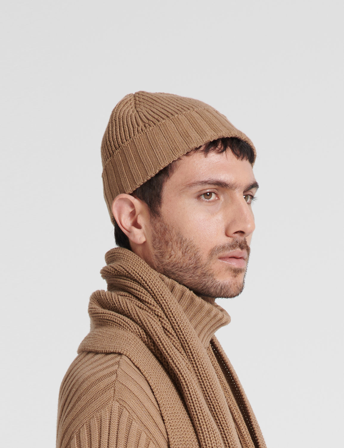 """Mora"" the fisherman's knit hat"