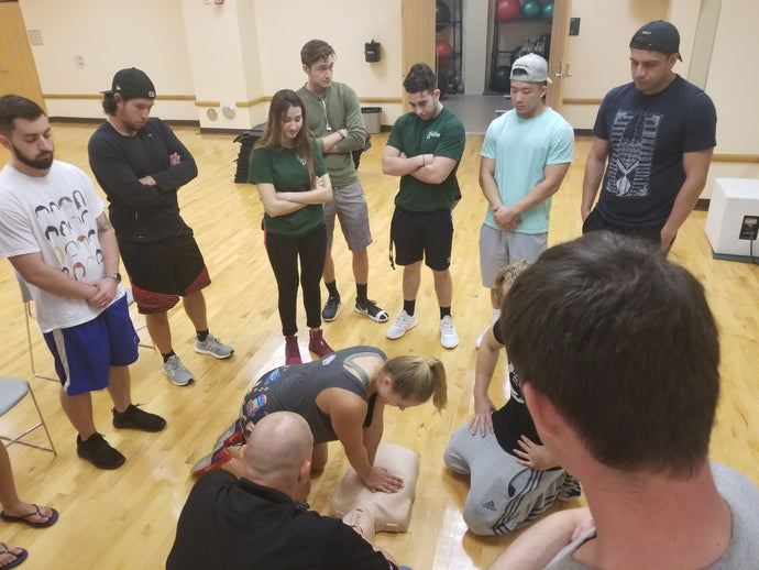 University of Miami Group CPR Training