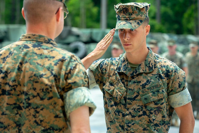Marine's CPR Saves Man's Life