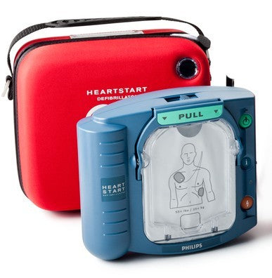 Philips HeartStart OnSite AED Refurbished Free Cabinet without Alarm