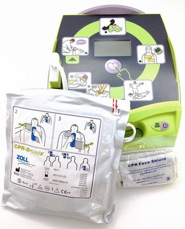 ZOLL AED PLUS Refurbished - Free Cabinet