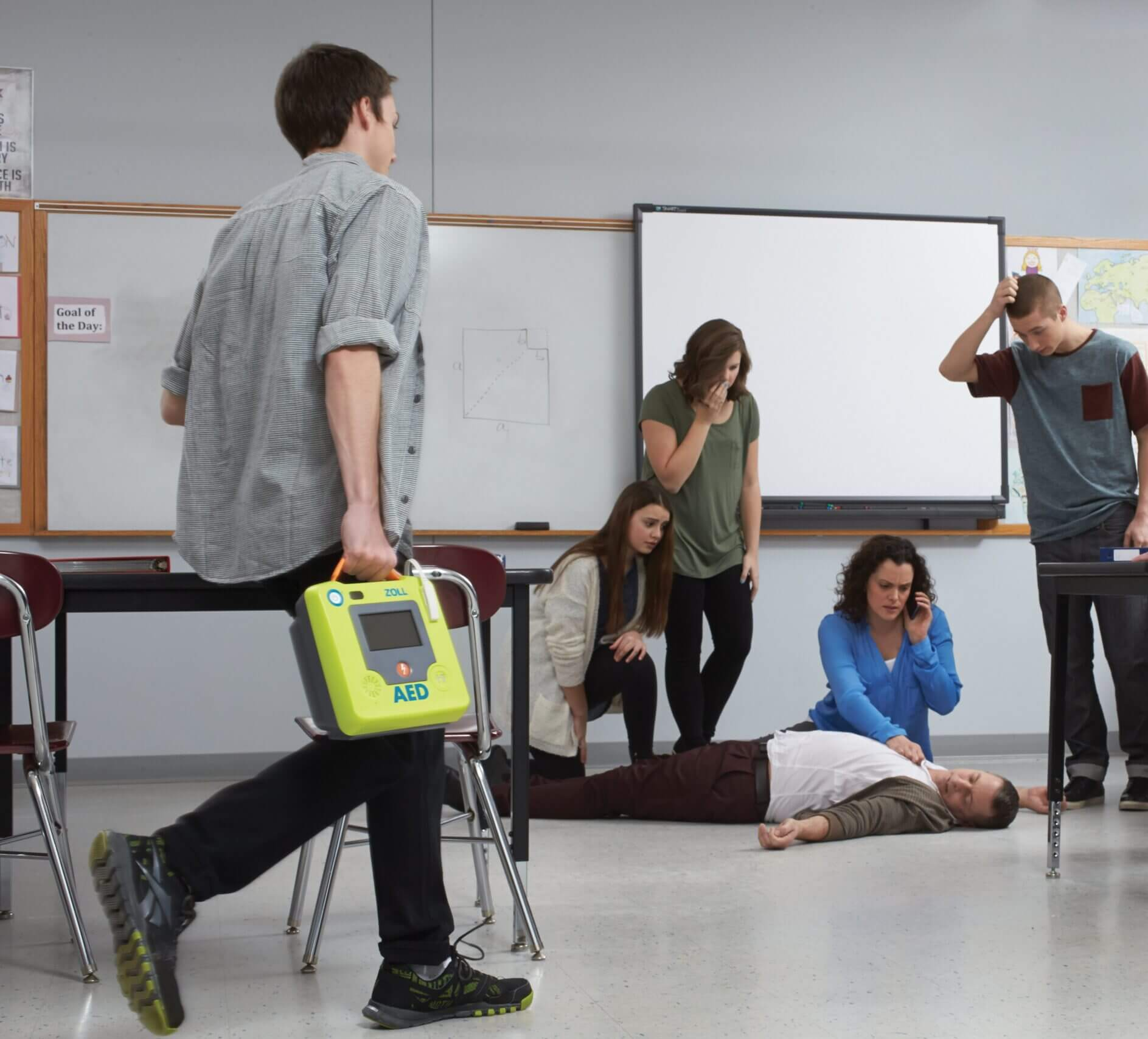 classroom rescue with zoll aed 3