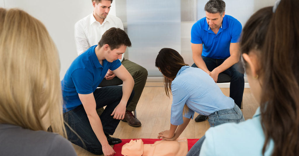 cpr training in the workplace