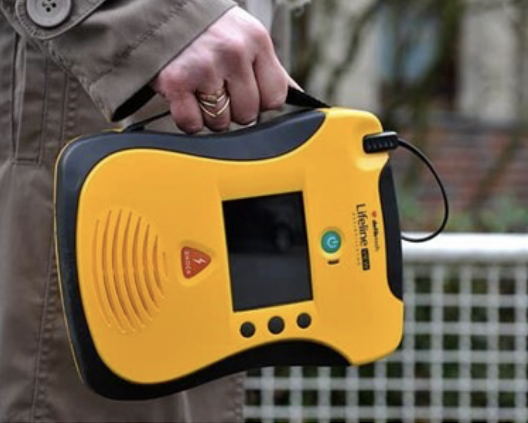 refurbished defibtech lifeline view aed for sale