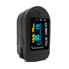What are the 2 readings on a pulse oximeter