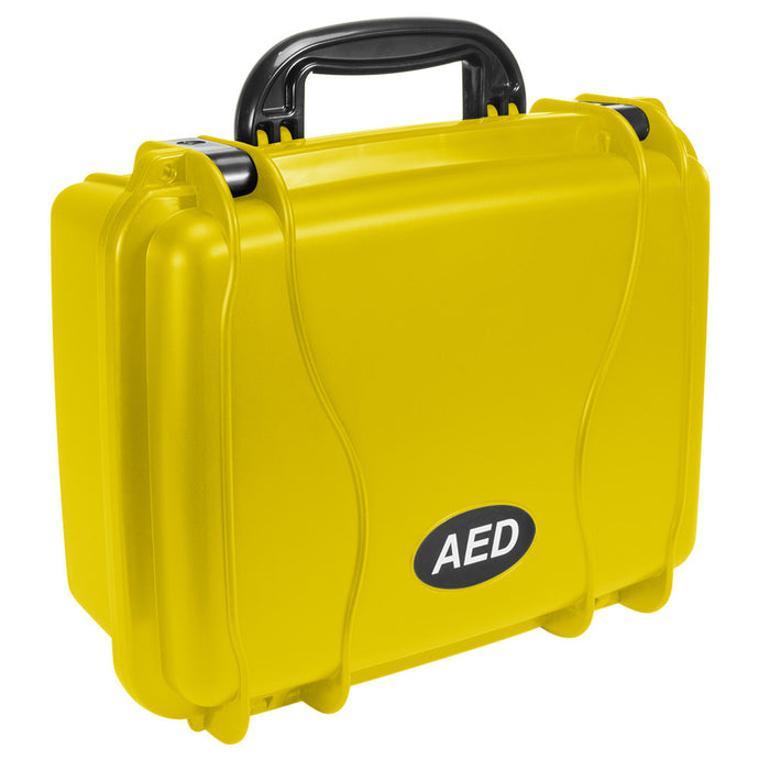 Defibtech Lifeline AED Standard Hard Carrying Case - Yellow