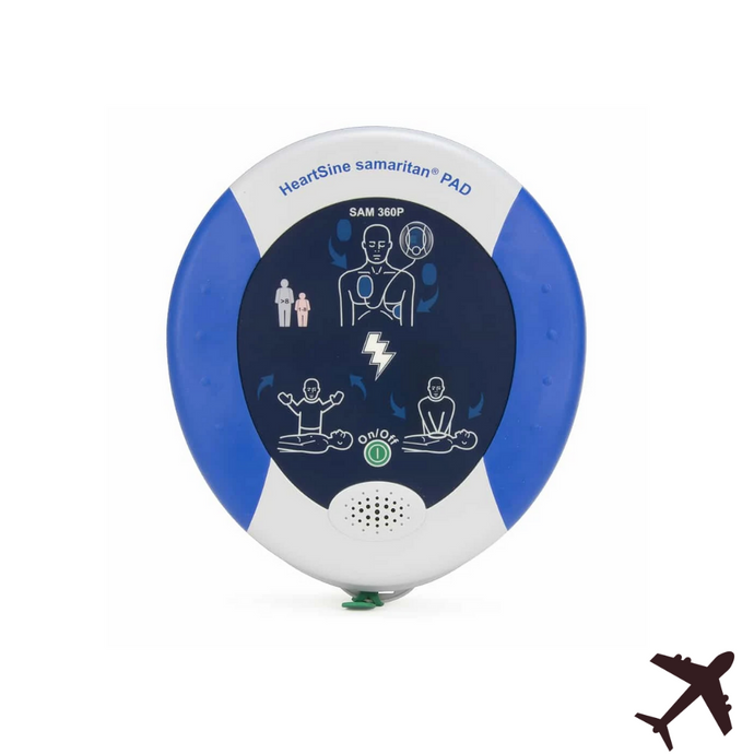 HeartSine Samaritan PAD 360P Aviation AED