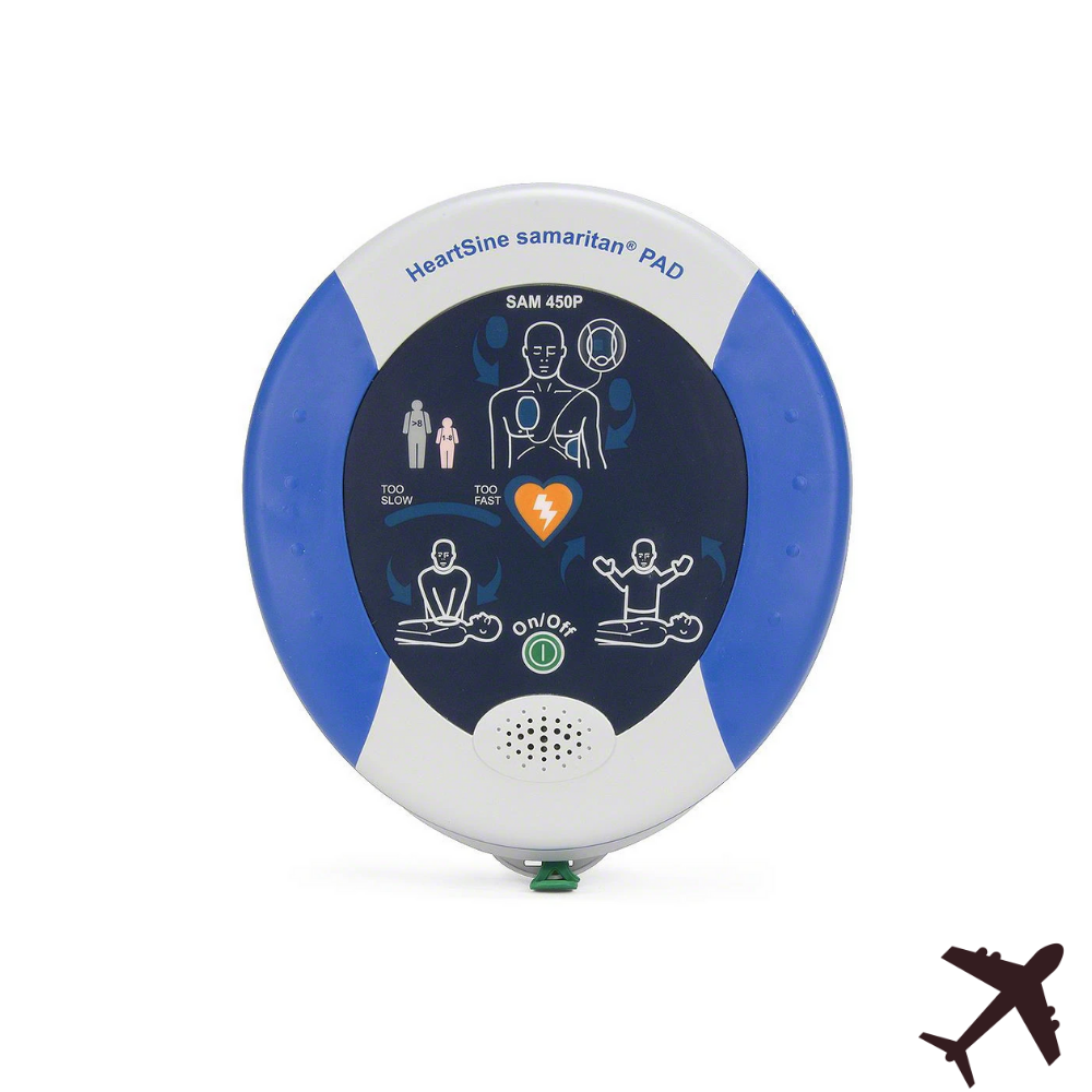 HeartSine Samaritan PAD 450P Aviation AED