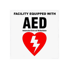 Load image into Gallery viewer, AED Facility Decal