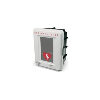 Allegro 4400 Series Alarmed AED Storage Cabinet, Wall Mount