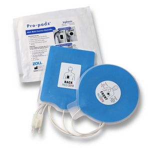 ZOLL Pro Padz - 1 pair Biphasic Multi-Function Electrodes - for E & M Series Defibrillators