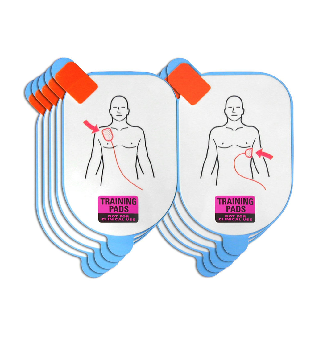 Defibtech Adult Training Pads - 5 Pack