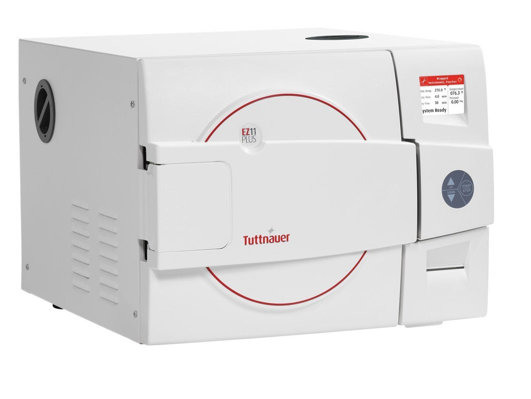 Tuttnauer EZ11 Plus Fully Automatic Autoclave with Printer