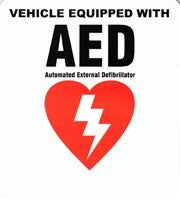 Defibtech AED Vehicle Decal