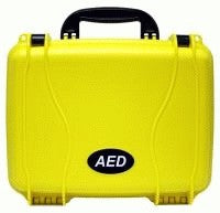 Load image into Gallery viewer, Defibtech Lifeline AED Standard Hard Carrying Case - Yellow