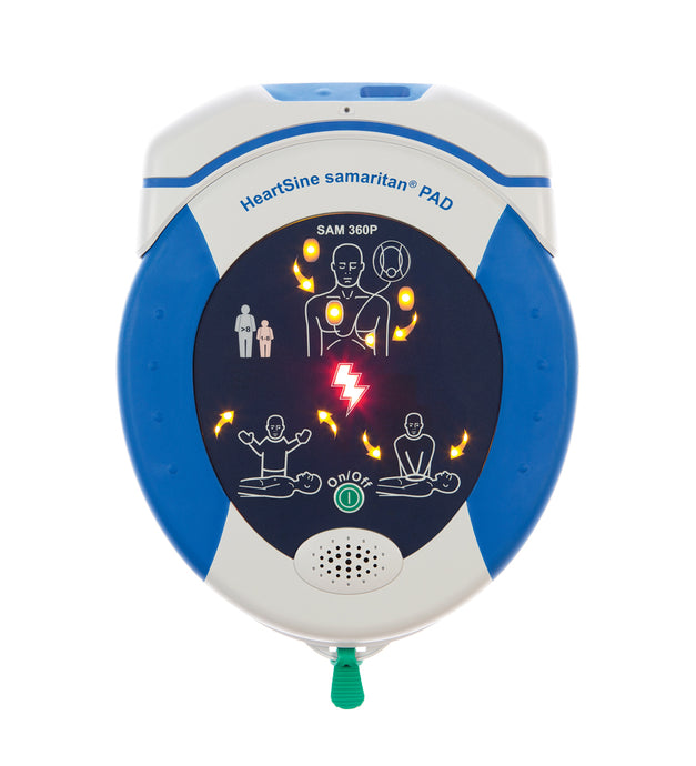 HeartSine SAM PAD 360P Connected AED with HeartSine Gateway