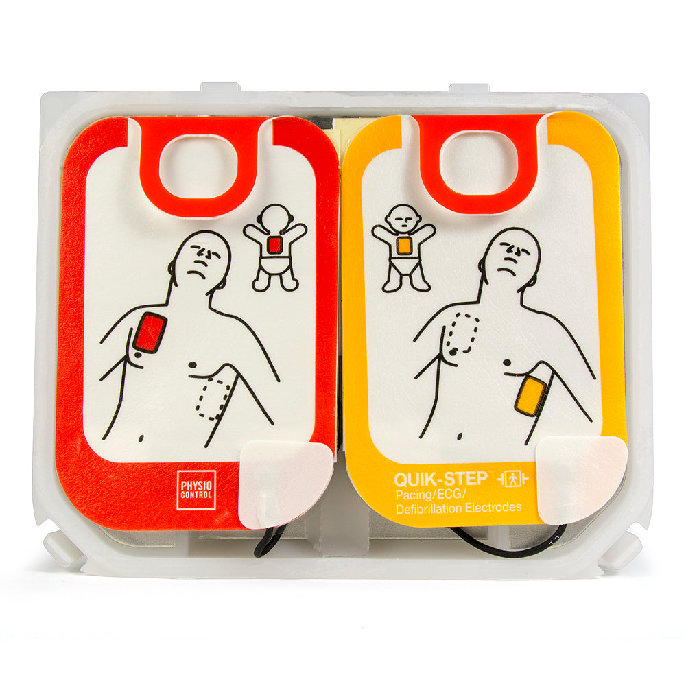 Physio-Control LIFEPAK CR2 Adult/Child QUIK-STEP 4-Year Electrodes