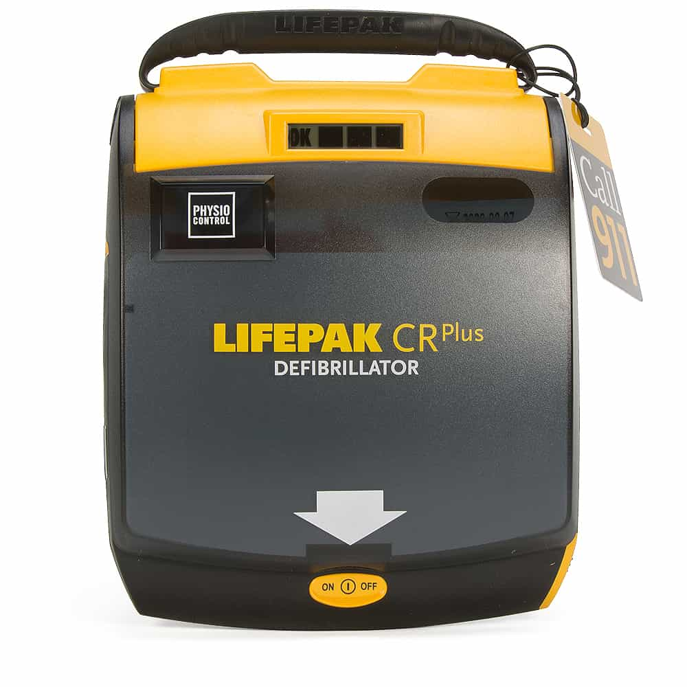 Physio-Control LIFEPAK CR Plus AED, Fully Automatic - NEW