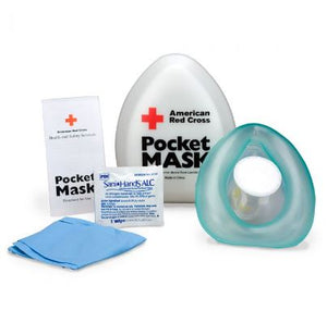 CPR Laerdal Pocket Mask with Plastic Case