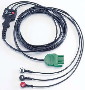 Physio-Control 3-Wire ECG Cable (Lead II)