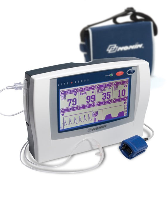 Nonin LifeSense Vital Signs Monitor for Pulse Oximetry & Capnography