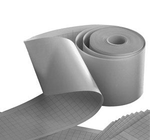 Philips 50mm Chemical Thermal Paper, Gray Grid 80 rolls