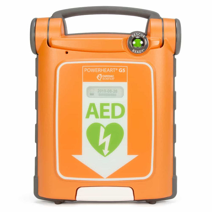 Cardiac Science Powerheart AED G5, Semi-Automatic - NEW